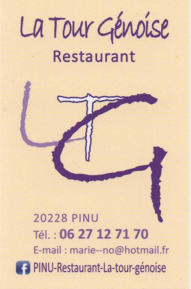 Restaurant La Tour Genoise En Corse